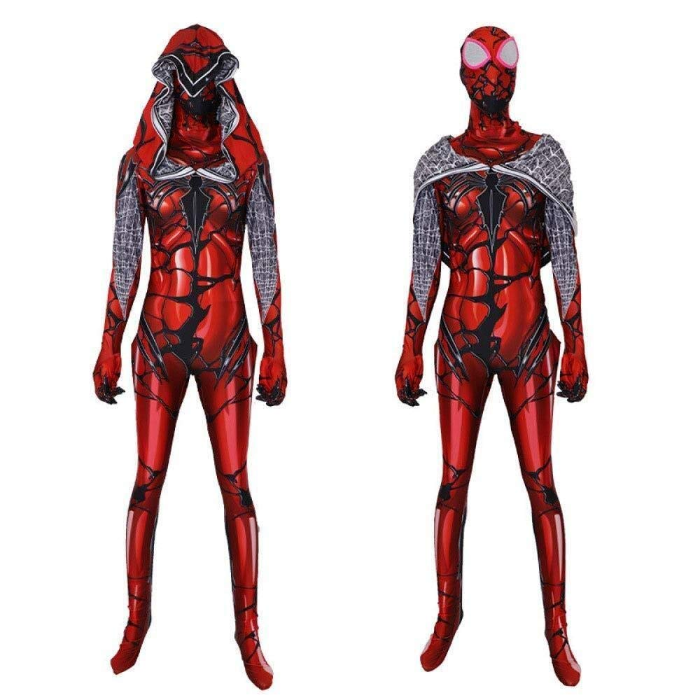 Hommes petit Hcxbb-b Venom Femme Spiderhomme Costume- Adulte Enfants HalFaibleeen Party Movie Props Tights (Couleur   Hommes, Taille   grand)