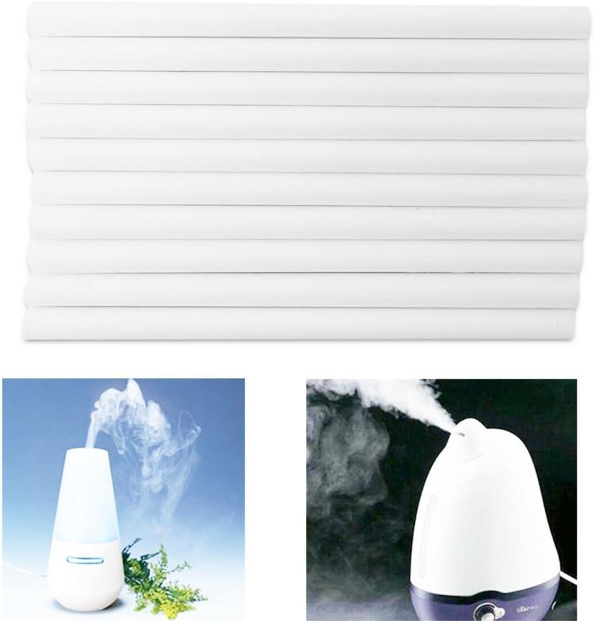 Angelliu - Bastones para el humidificador, Filtro de Repuesto, 10 Varillas de algodón, Filtro para humidificador con tapón de Botella de Agua USB: Amazon.es: Hogar