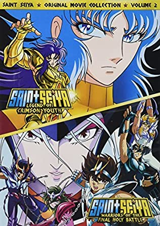 Amazon.com: Saint Seiya: Movies 3 & 4 [DVD] [Region 1] [US ...