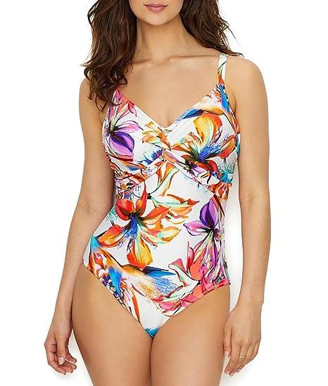 36c5943e1a Fantasie Swim Paradise Bay Twist Front Underwired Swimsuit: Amazon.co.uk:  Clothing