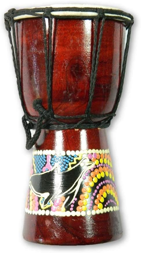 15cm Djembe Drum Bongo By Carved Culture Percussion Musical Instrument