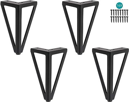 Pieds de meuble de t/él/évision Pieds de table /à th/é Mobilier Pieds Quincaillerie Pieds Pieds de soutien Pieds de lit Pieds de canap/é Pieds de meubles en m/étal,15cm