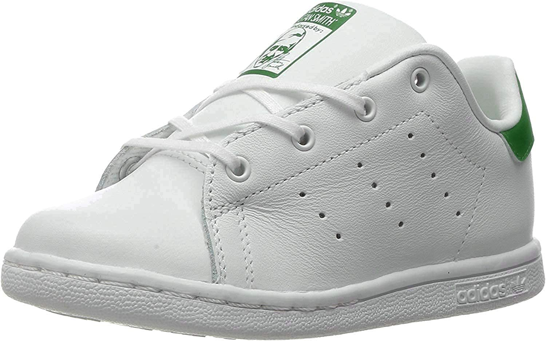 adidas Originals Boys Stan Smith I Running Shoe, White/Green, 4 Medium US Toddler: ADIDAS: Amazon.es: Zapatos y complementos