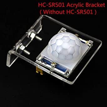 Muccus IR Pyroelectric Infrared Motion Sensor Detector Module HC-SR501 Acrylic Bracket (Without HC-SR501) for arduino DIY KIT: Amazon.com: Industrial & ...