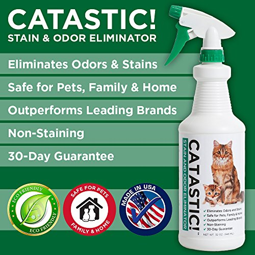 Catastic Cat Urine Remover And Odor Eliminator Overview 2018