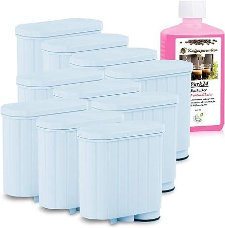 SCANPART Filtro de agua como AquaClean CA6903 para cafeteras automáticas Philips Saeco y un patrón Durgol descalcificador gratis (10 unidades): Amazon.es: Hogar