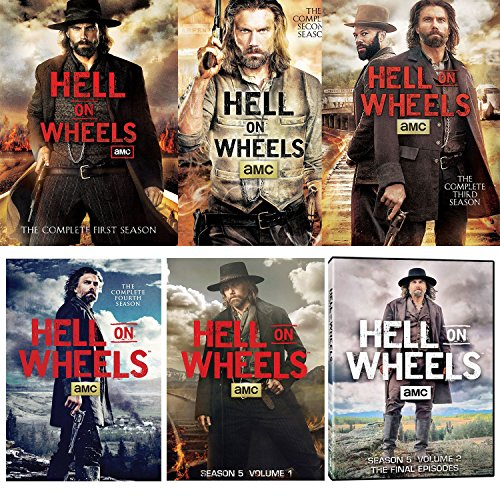 Hell on Wheels: Season 1 - 5 Complete Series Collections for sale  Delivered anywhere in Canada