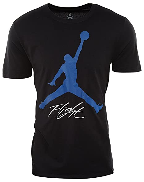 246aaea084a586 Amazon.com  Jordan Retro 4 Motorsports T-Shirt Mens Style  912013-010 Size   M Black Blue  JORDAN  Sports   Outdoors