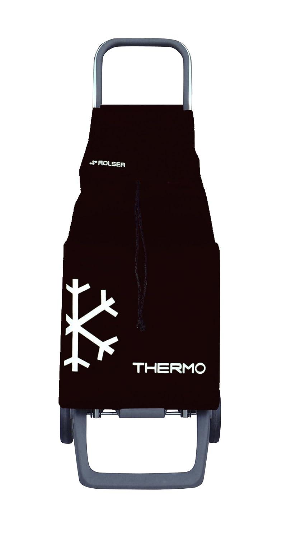 Rolser JET010S Poussettes à marché Joy/Thermo 48 L en Noir, Polyester, Multicolore, 32x27x95 cm JET010 NEGRO