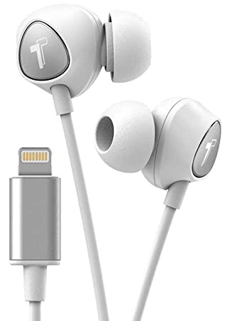 c86e1b1f5a2 Thore Earphones for iPhone (Apple Certified) In Ear Wired Lightning  Headphones with Microphone,