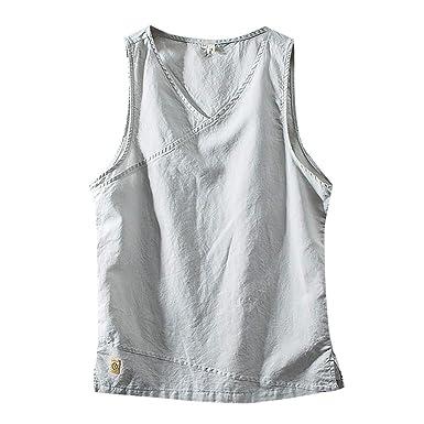 NAVY BLUE PACK OF 5 HANES Racerback Solid Cotton Vest For Mens