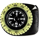 Marathon Watch CO194005BK Clip-On Wrist Compass with Glow in The Dark Bezel. Comes with a 16mm Military Nylon Strap. (Version: Northern Hemisphere) Color- Black.