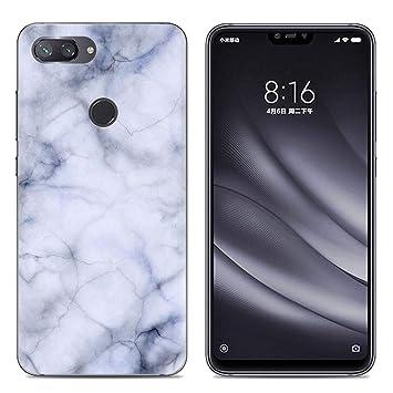 AIOIA Funda TPU para Movíl Xiaomi Mi 8 Lite,Carcasa ...