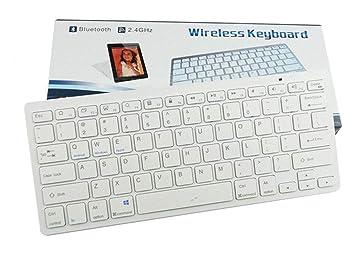 XIYANG Teclado, Bluetooth Teclado Inalámbrico Bluetooth Portátil Universal iOS, Android, Windows Tablet PC Smartphone Incorporado Batería Recargable de 6 ...