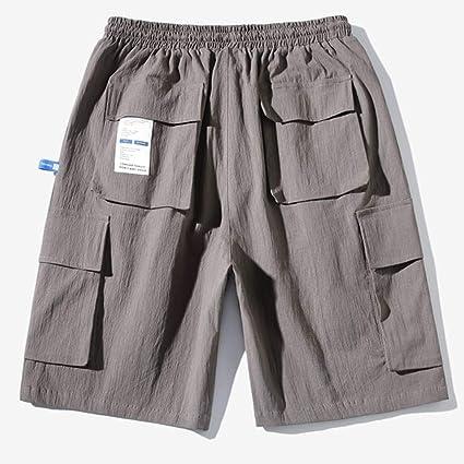 Mens Carpenter Drop Crotch Loose Casual Outdoor Beach Shorts Pants