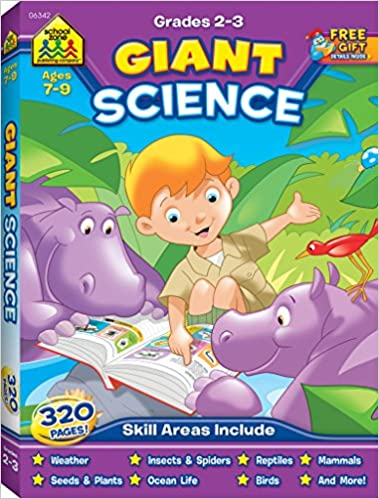 School Zone Giant Science Workbook Ages 7 To 9 Second