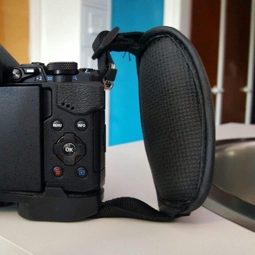 Hotaluyt Cuoio della Macchina Fotografica Reflex Digitale Subacquea Polso Regolabile Banda Cinghia Mount Belt Accessori per Fotocamere