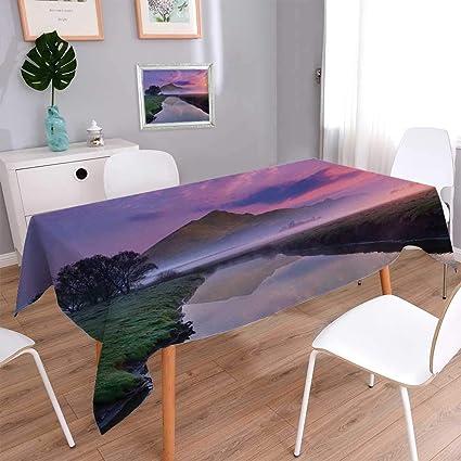 Amazon.com: Warm Family Landscape Dinner Picnic Table ...