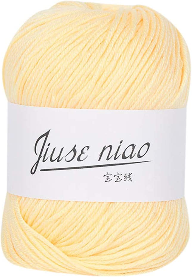 FeiliandaJJ 50 g 13 Colores Ovillo para Tejer & Mano, Piel Cuidado ...