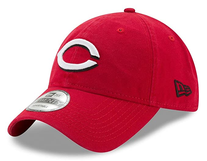 the best attitude cb36b 8b75e New Era Cincinnati Reds MLB 9Twenty Primary Core Classic Adjustable Hat