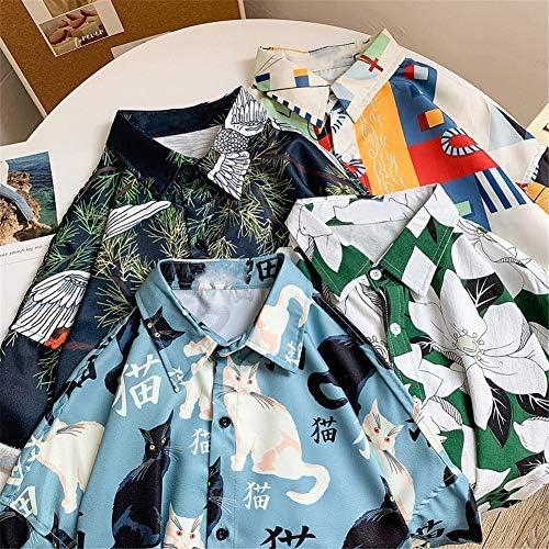 シャツ アロハシャツ 半袖シャツ 5分袖 花柄シャツ メンズシャツ トップス ゆったり カジュアル メンズファッション シンプル オシャレ 綿 涼しい ストリート ハワイ風 爽やか