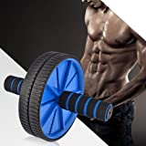 SPORTO FITNESS Unisex Ab Roller Total Body Exerciser (With Knee Mat)