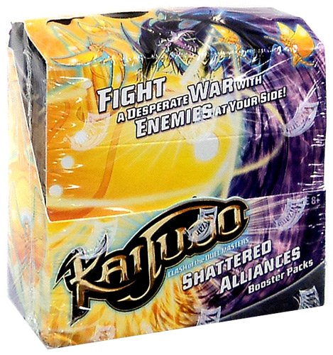 Kaijudo Trading Card Game Shattered Alliances Booster Box [24 Packs] by Wizards of the Coast
