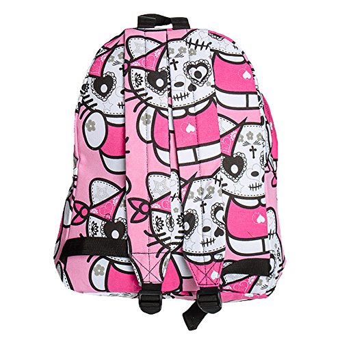 Mochila de gatos de Bleeding Heart (Rosa) - talla unica