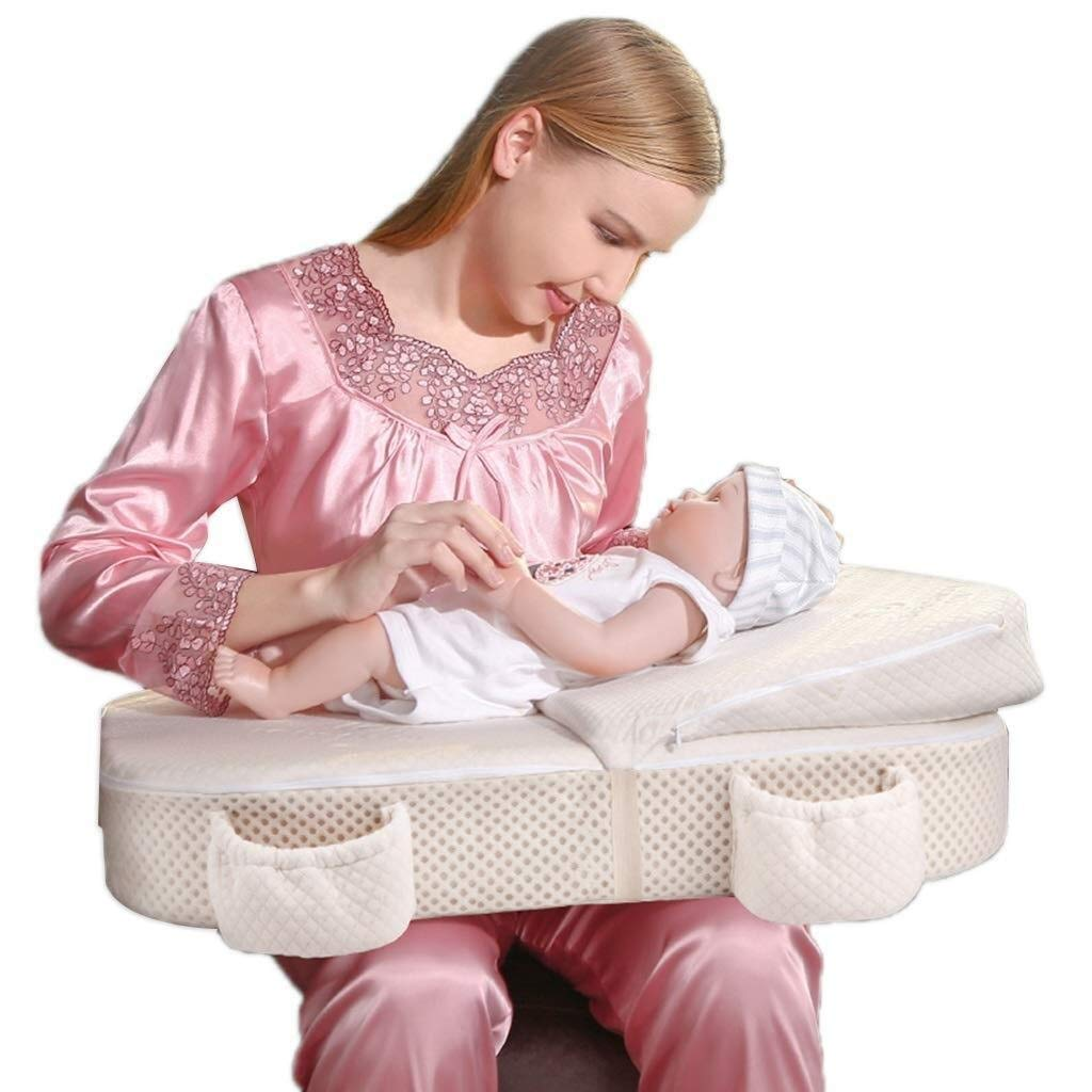Wyyggnb Nursing Pillow, Breastfeeding Pillows Safety Fence Breastfeeding Pad Pregnant Woman Sleeping Pillow Learning to Sit On The Pillow Feeding Pillow by Wyyggnb