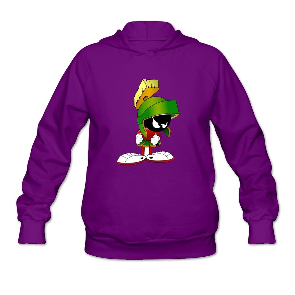 JUST Women's Movie Marvin The Martian Character Hoodies