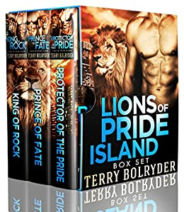 Lions of Pride Island Complete Series by [Bolryder, Terry]