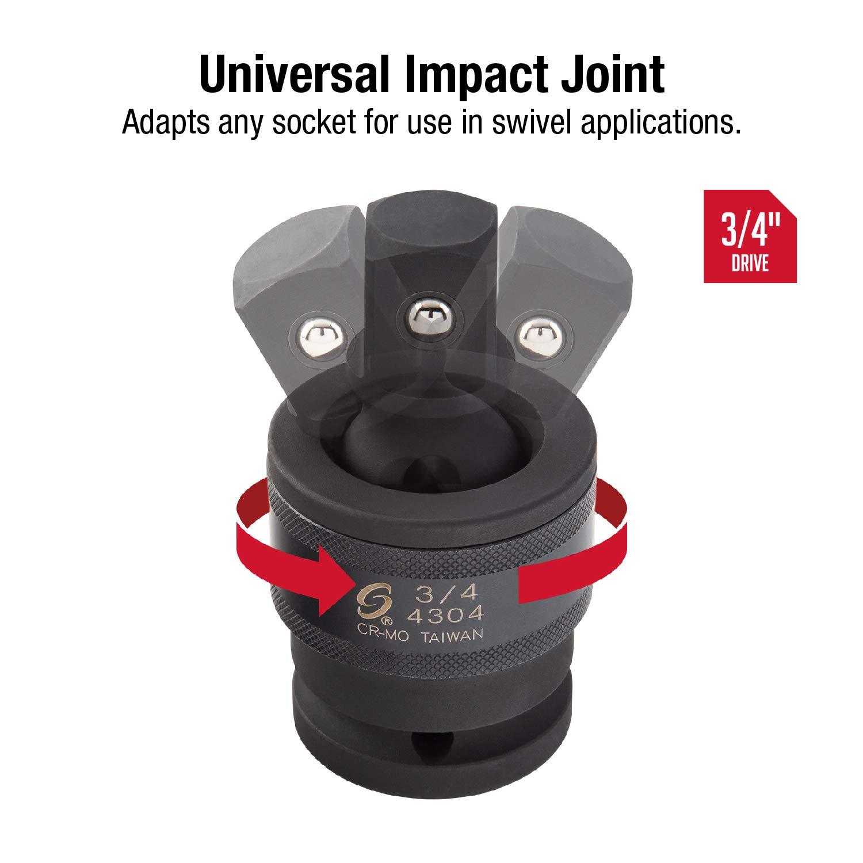"Sunex Tools 4304 3//4/"" Drive Universal Joint"