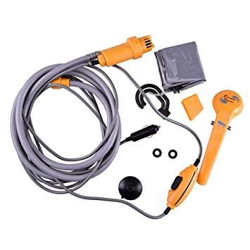 High Pressure Caravan Camper Electric Portable Shower Car Washer Water Pump 12v Washer Outdoor Travel Car Shower Cheapest Price From Our Site Outdoor Tools