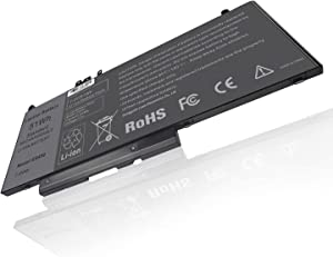 TREE.NB Battery G5M10 GMT4T 79VRK 7V69Y TXF9M 5185U for Dell Latitude E5450 E5550 Notebook 15.6
