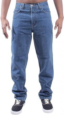 Pantalones Vaqueros Para Hombre De Blue Circle Bcb1 Para Granjeros O Mecanicos Tallas 28 60 Stonewash 30w Solamente Amazon Es Ropa Y Accesorios