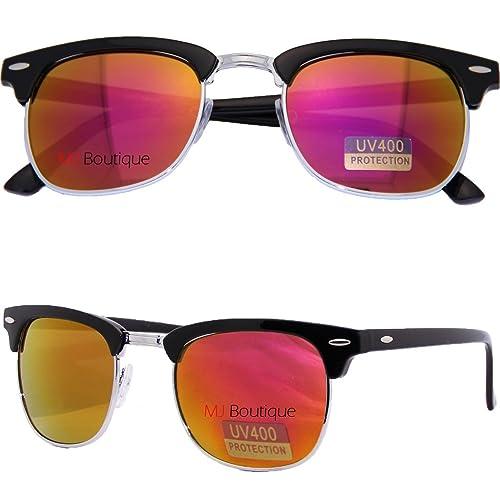 Amazon.com: Boutique de MJ Clubmaster anteojos De Sol ...