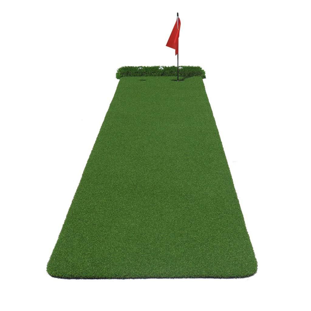 ゴルフパターグリーン屋内用パタートレーナー持ち運びに便利な折りたたみ式ミニ屋内屋外練習用グリーンブランケットオフィス練習用ブランケット (Color : Green, Size : 300*50*3cm) 300*50*3cm Green B07QW57QQ2