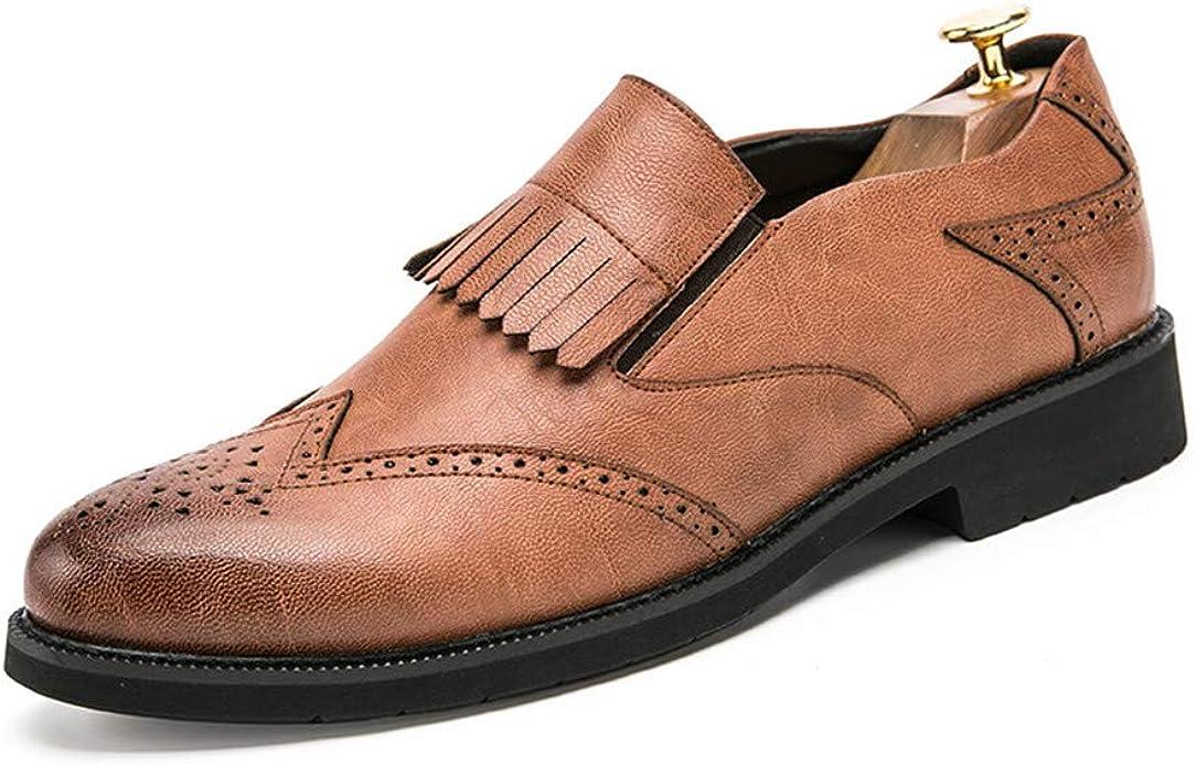 JIADUOBAOSEN Zapatos de Hombre de Negocios, Informales, Modernos ...