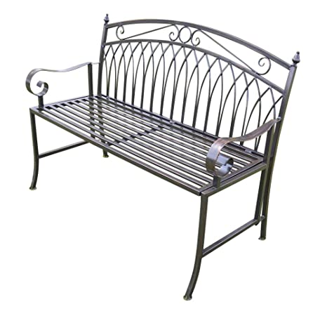 Terrific Olive Grove Versailles Folding Metal Garden Bench In Antique Bronze Finish Complete With Cushion Worth 19 50 Oglf21 13409 Ibusinesslaw Wood Chair Design Ideas Ibusinesslaworg
