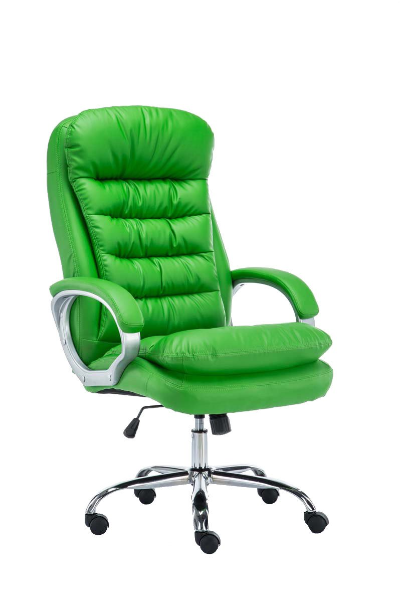 Green chair for office - Clp Xxl Office Chair Vancouver Heavy Duty Weight Capacity 235 Kg Green Amazon Co Uk Kitchen Home