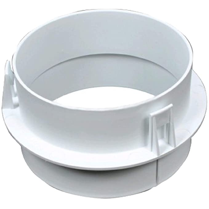 SPARES2GO Vent Hose Adaptor//Connector Ring for Miele Tumble Dryer 100mm // 4 Diameter