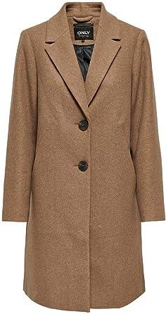 Only Onlcarrie Mel Coat Otw Abrigo para Mujer