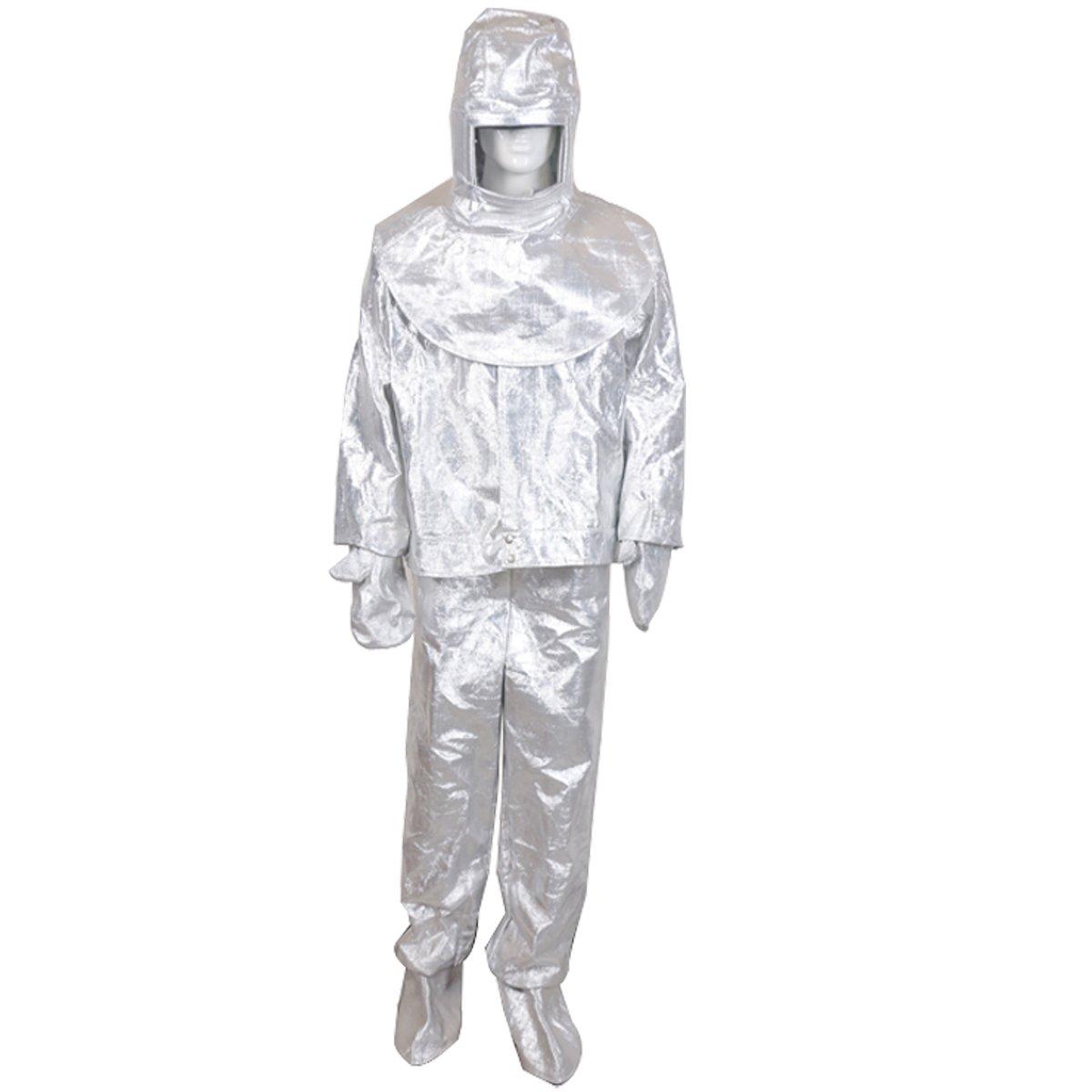 Amazon.com: Traje de trabajo de seguridad de aluminio ...