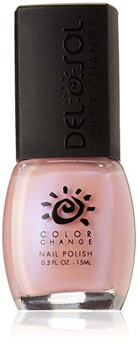 Amazon.com : Del Sol Color Changing Nail Polish, Quick Dry Lacquer that Changes Hue in the Sun, Full Size Bottle (Every Blooming Thing), 0.5 oz.