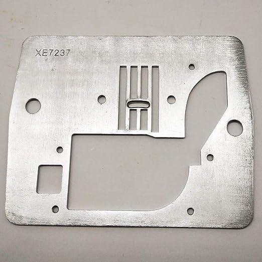 YICBOR XE7237001 - Plato de aguja para máquina de coser Brother