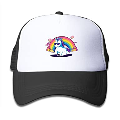 Rhfjgk Ldjg Mesh Baseball Caps Sun Hat Kids Cap Cool Donut Pizza Unicorn  Boys Girl 9271642fad9