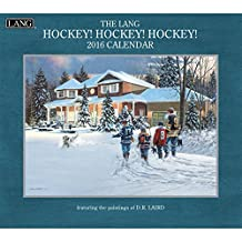 Perfect Timing Lang Hockey 2016 Wall Calendar by D.R. Laird, January 2016 to December 2016, 13.375x24-Inch (1001916)