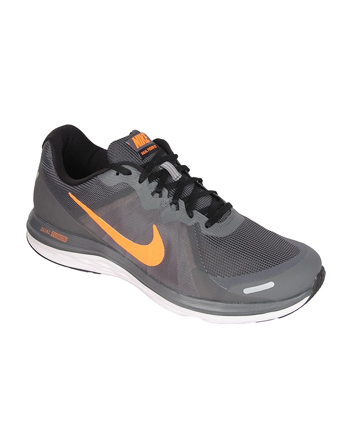 Nike Men's DUAL FUSION X 2 Grey Running Shoes(UK-7): Buy Online at Low  Prices in India - Amazon.in