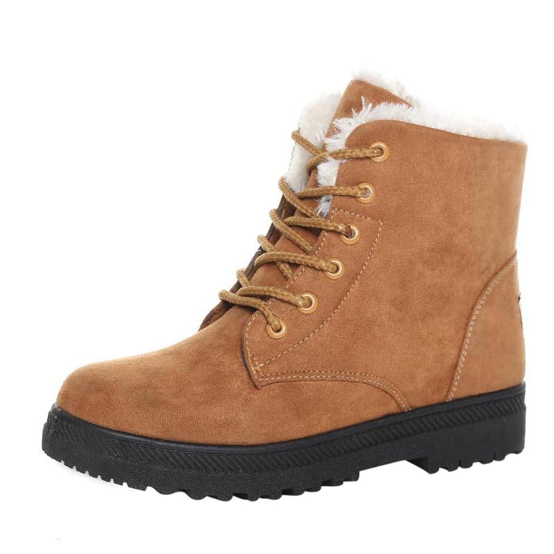 Women's Winter Boots, Egmy Warm Shoes Snow Boots Fashion Winter Short Boots