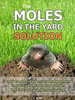 The Moles In The Yard Solution How to get rid of moles and